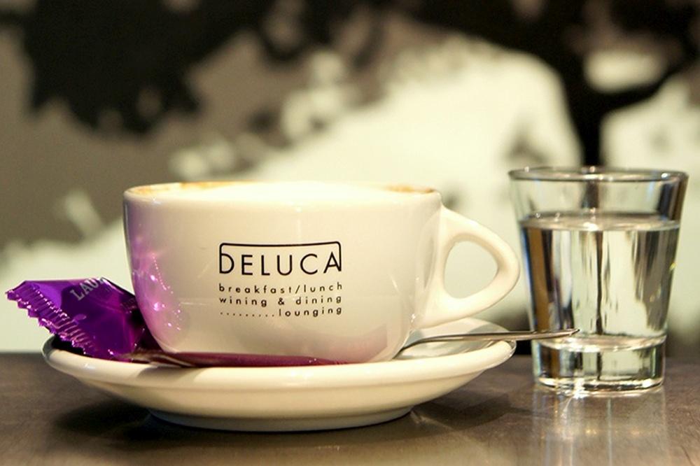 Koffie bij Restaurant De Luca in Den Haag