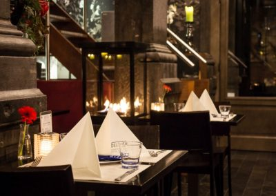 Interieur Restaurant De Luca Den Haag